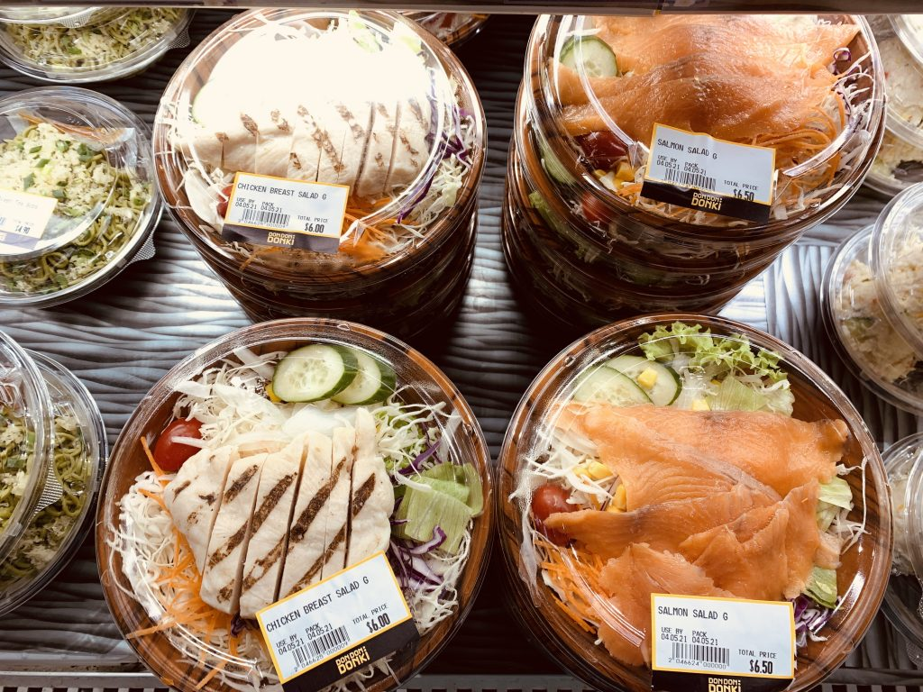Don Don Donki Ready-to-Eat Meals - Salads
